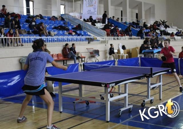 Analig Masa Tenisi Çeyrek Final Müsabakaları Sona Erdi