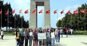 Karaman Gençlik Merkezi Üyelerinden Çanakkale'ye Ziyaret