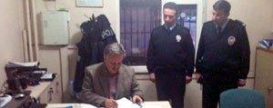 Vali Kahraman, Polis Merkezlerini Ziyaret Etti