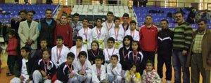 Il Içi Kulüpler Arasi Taekwondo Sampiyonasi Yapildi
