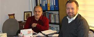 METCAP Yönetim Kurulu Baskan Yardimcisi Kerem Metin Karaman'daydi
