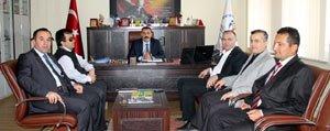 Büro Memur-Sen'den Il Müdürümüz Kisacik'a Ziyaret