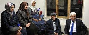 Vali Murat Koca'dan Madenci Ailelerine Taziye Ziyareti