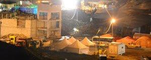 Ermenek`teki Maden Ocaginda Istinat Duvari Çöktü