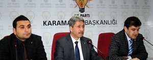 AK Parti'de Akça'da Adayligini Açikladi