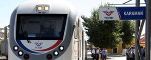 1 Aralik'tan Itibaren Karaman'dan Konya'ya Tren Yok