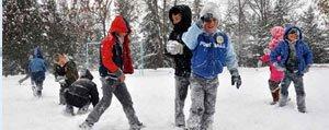 Okullara Bir Gün Kar Tatili