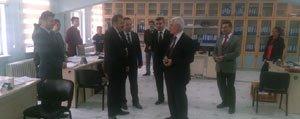 Karaman'daki Spor Yatirimlari Görüsüldü
