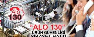 Güvensiz Ürünler Alo 130'a Bildirilecek