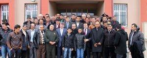 Dinçer'den Köyüne Ziyaret
