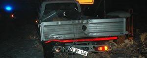 Servis Minibüsü, Kamyonete Arkadan Çarpti: 16 Yarali