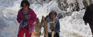 Kar Yagisi Karaman'in Yüksek Kesimlerinde Etkilili Oluyor