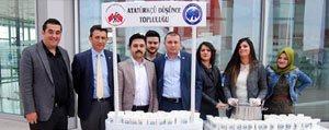 KMÜ Ögrencileri 18 Mart'ta Hosaf Dagitti