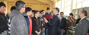 Sultanoglu'ndan Mesleki Ve Teknik Anadolu Lisesine Ziyaret