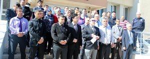 Karaman'da Adliye Çalisanlarindan Protesto
