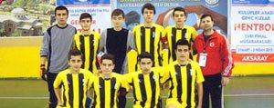 Futsal'da Irfan Ataseven Anadolu Lisesi Rüzgâri