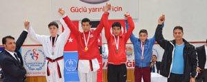 Yildiz Taekwondo'cular Göz Kamastirdi