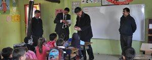 Baskan Samur, Okul Ziyaretlerini Sürdürüyor