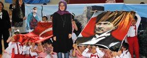 Ilimizde 23 Nisan Ulusal Egemenlik Çocuk Bayrami Coskusu