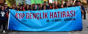 Karaman`da Kop Gençlik Festivali Basladi