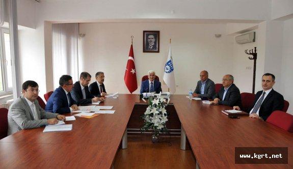 Teknoloji Geliştirme Bölgesi Şirket Kurulumuna Yönelik Toplantı Yapıldı