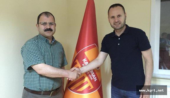 Karaman Belediyespor Teknik Direktörlük Görevini Cahit Erçevik'e Verdi
