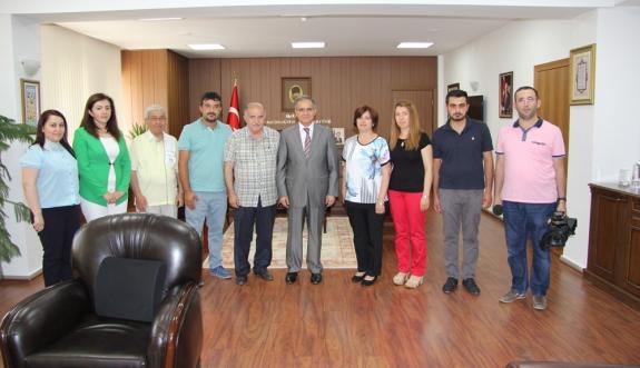 KGRT'den Vali Tapsız'a Hoşgeldin Ziyareti
