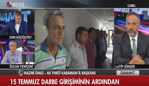 """AK Parti İl Başkanı Nazmi Ünlü: """"Ben Böyle Birşey Söylemedim. Söylemem de. Meydanlardayım"""""""