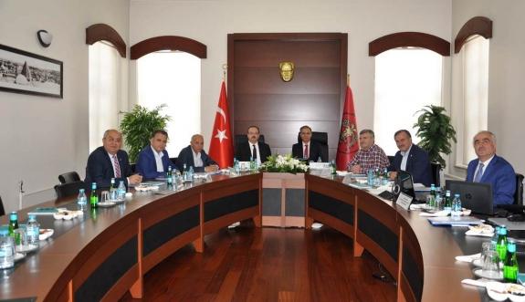 MEVKA Temmuz Ayı Yönetim Kurulu Toplantısını Gerçekleştirdi