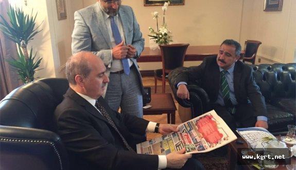 Uluslar Arası Kültür Turizmi Ve Medya Kurultayı Bugün Konya'da Başlıyor