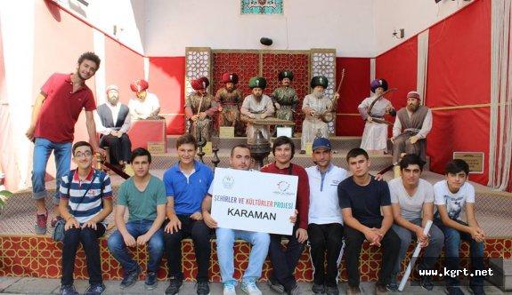 Karaman Gençlik Merkezi Üyeleri Kültür Gezilerine Devam Ediyor
