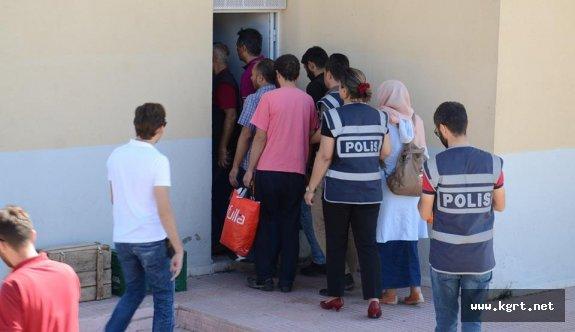 Karaman'daki FETÖ operasyonuna 7 tutuklama