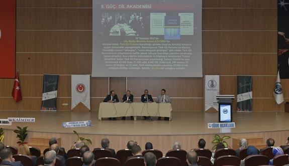KMÜ, Türk Dil Bayramı Kutlamalarına Ev Sahipliği Yaptı