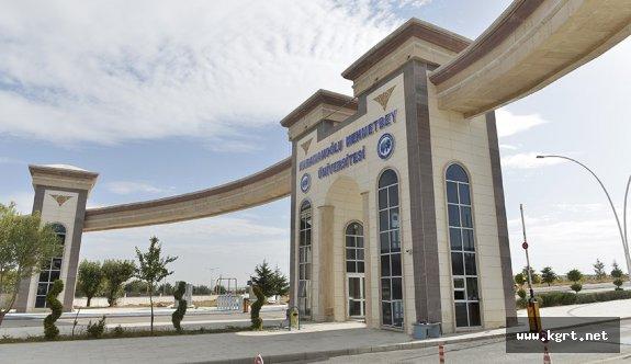 KMÜ'de İşaret Dili Kursu Açılıyor