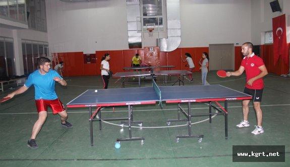 Masa Tenisi'nde Yeni Sezon Hazırlıkları Devam Ediyor