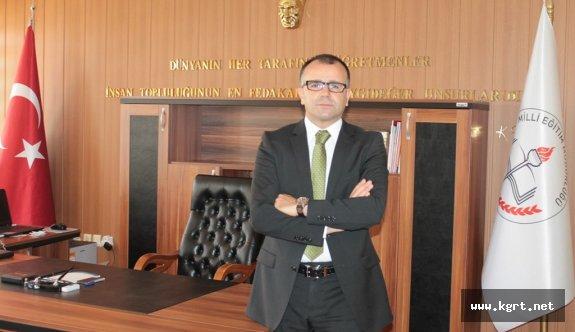 Milli Eğitim Müdürü Sultanoğlu: Tüm Eğitim Camiamızın, Veli ve Öğrencilerimizin Bayramını Kutlarım