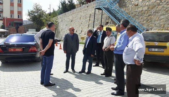 Vali Tapsız, Belediye Başkanı Samur'u Ziyaret Etti