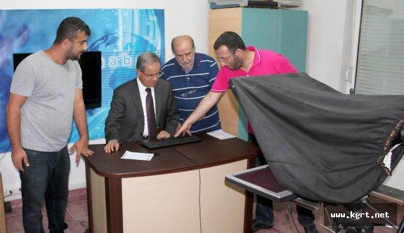 Vali Tapsız'dan Kgrt'ye Ziyaret