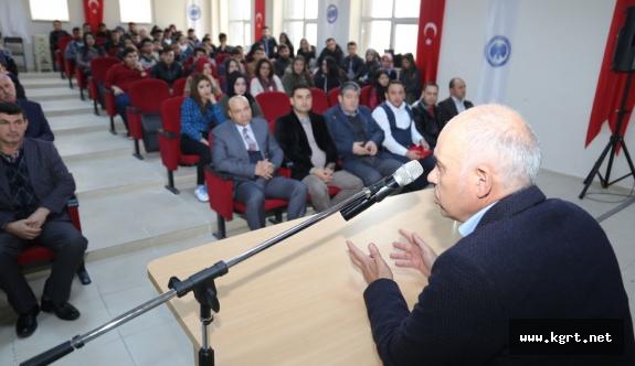 """Başkan Çalışkan: """"Güçlü Türkiye Sizlerin Omuzlarında Yükselecektir"""""""
