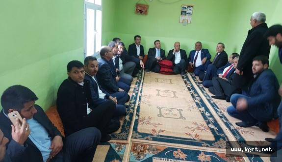 Başkan Çalışkan Viranşehir'de Aşiret Liderleri Ve Gençlerle Buluştu