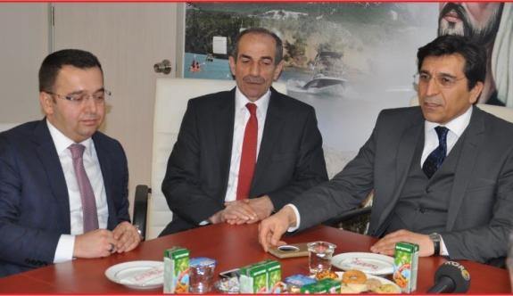 Çalışma Ve Sosyal Güvenlik Bakanlığı Bürokratları Karaman'da
