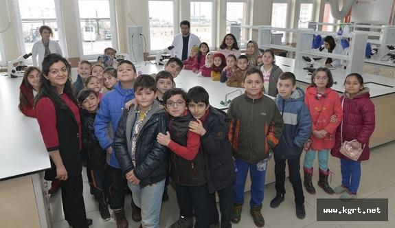 Gazi Mustafa Kemal İlkokulu Öğrencileri Kmü'yü Ziyaret Etti