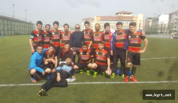 İşitme Engelliler Futbol Takımı 3 Puanı Kaptı