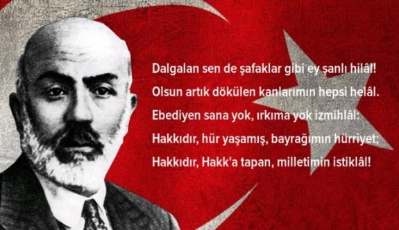 İstiklal Marşımızın Kabulünün 96. Yılı Kutlanacak
