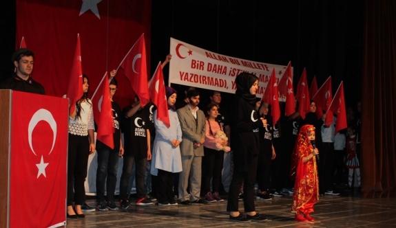 İstiklal Marşı'nın Kabulünün 96. Yıl Dönümü Kutlandı