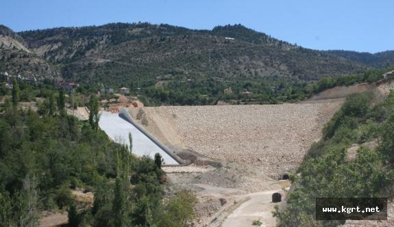 Karaman Ermenek Kazancı Barajı'nda Çalışmalar Hızla Devam Ediyor