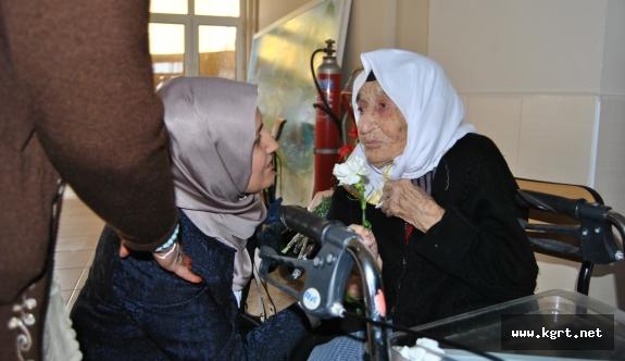 Karaman Halk Sağlığı Müdürlüğünden Huzurevine Ziyaret