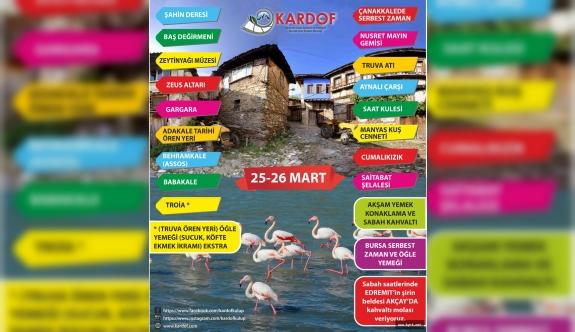 KARDOF Çanakkale Balıkesir Bursa İçin Hazırlanıyor