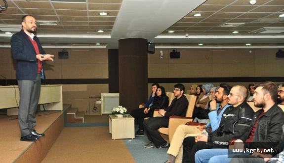 KMÜ'de İmaj Yönetimi Ve Cv Hazırlama Teknikleri Semineri