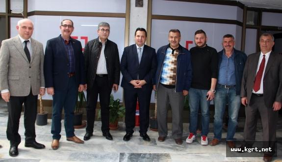 Konya Gazeteciler Cemiyetinden BYEGM'ye Ziyaret